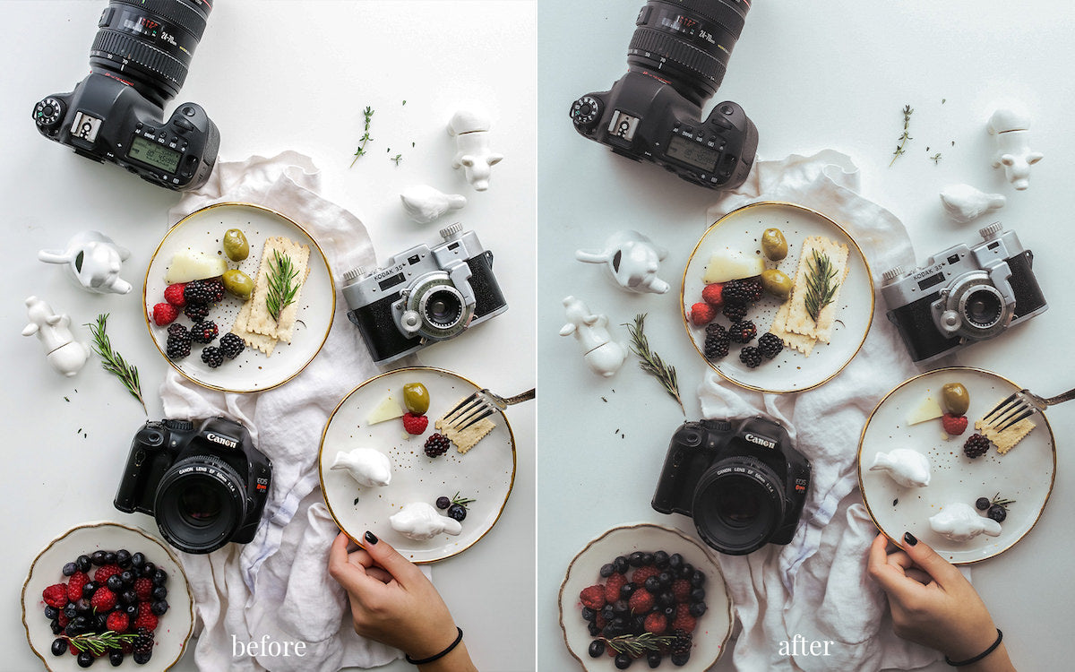 Lightroom Presets for Mobile and Desktop - Rise & Shine collection