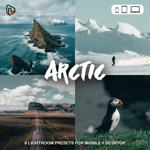 The Arctic Lightroom Preset - Yantastic Preset