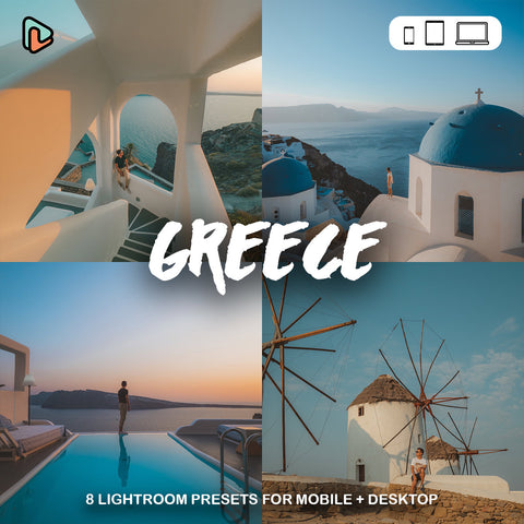 Yantastic lightroom presets - greece collection