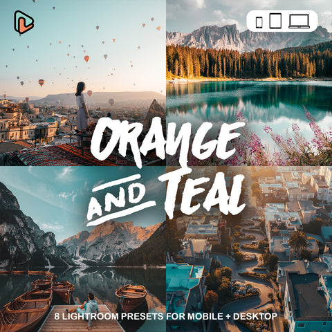 The Orange & Teal Lightroom Preset - Yantastic Preset