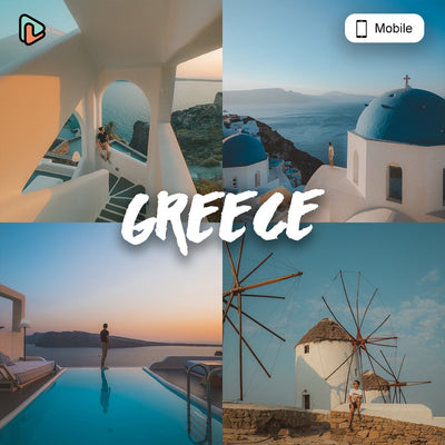 Greece Collection Mobile Presets - Yantastic Presets