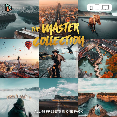 The Master Collection Lightroom Presets (Mobile + Desktop) Yantastic lightroom presets mobile desktop.