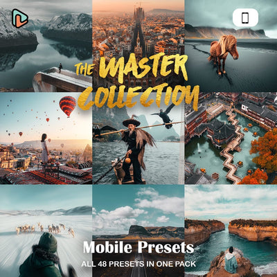 The Master Collection Lightroom Presets (Mobile Only) - Yantastic Presets