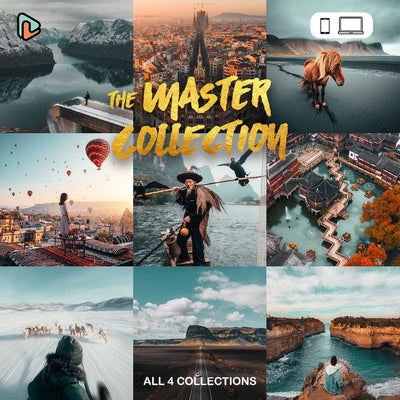The Master Collection Mobile + Desktop Presets - Yantastic Presets