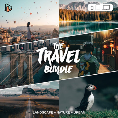 The Travel Bundle Lightroom Presets (Mobile + Desktop) Yantastic lightroom presets mobile desktop.