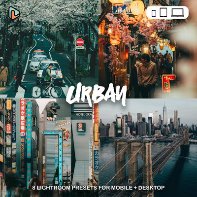 Urban Collection Lightroom Presets (Mobile + Desktop) - Yantastic Presets