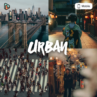 Urban Collection Mobile Presets - Yantastic Presets