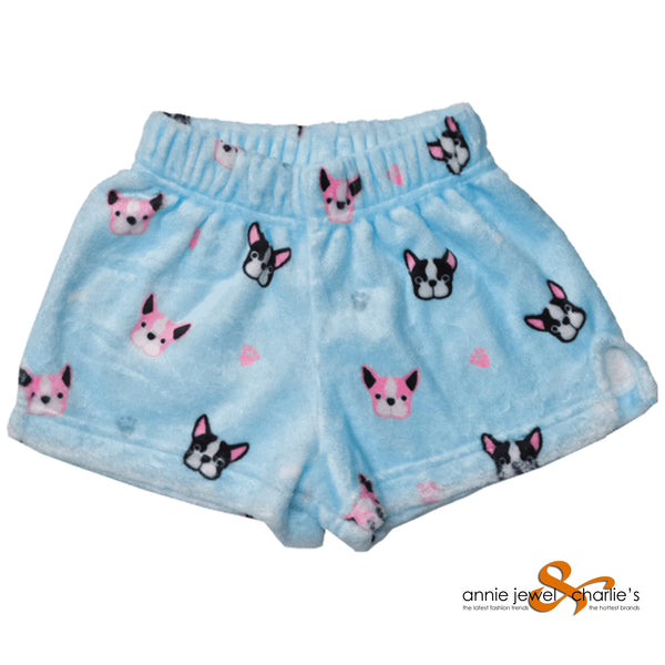 Iscream - Frenchie Plush Shorts