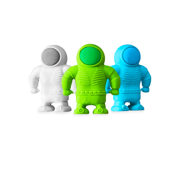 Ooly - Set of 3 Astronaut Erasers