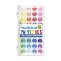 "Lil"" Watercolor Paint Pods 37 PC Set Washable Warercolors"