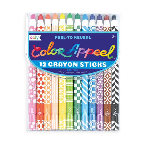 Ooly - Color Appeel Crayons Set of 12