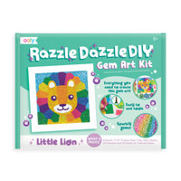 Ooly - Razzle Dazzle Gem Art Kit Little Lion