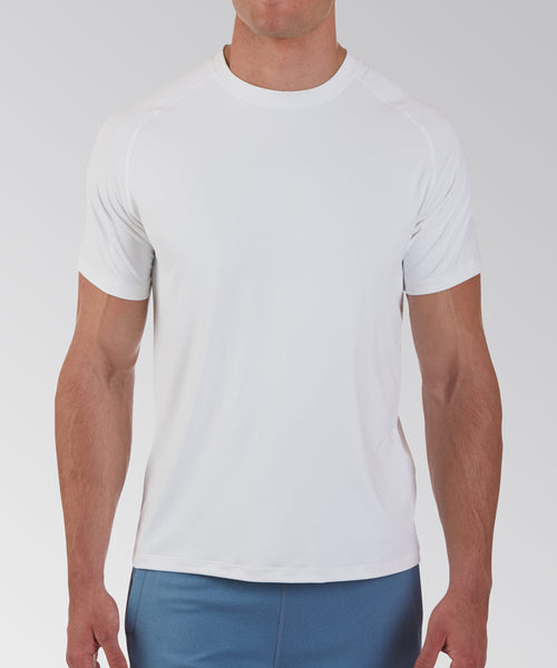 Peter Millar - White S/S Perf. Top