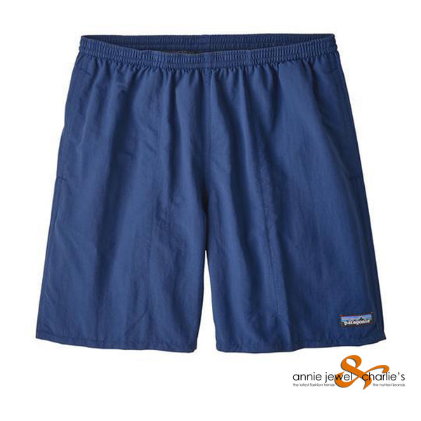 "Patagonia - Men's Baggies Long- 7"" Stone Blue"