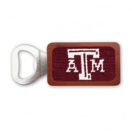 Smathers & Branson -Texas A & M Needlepoint Bottle Opener