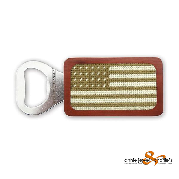 Smathers & Branson - Armed Forces Flag Needlepoint Bottle Opener