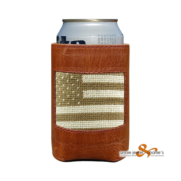 Smathers & Branson - Armed Forces Needlepoint Can Cooler