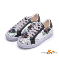 Lola - Sequin Star Sneakers