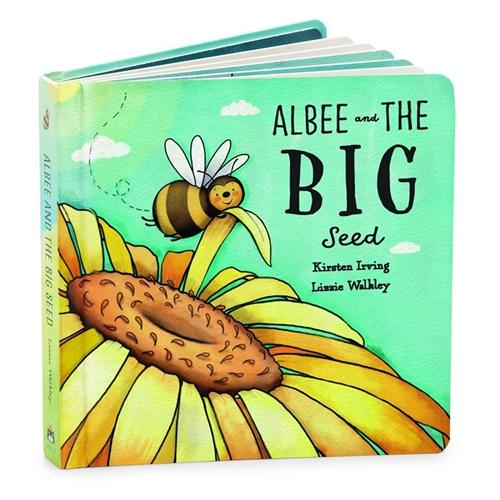 Jelly Cat - Albee and the Bid Seed Book