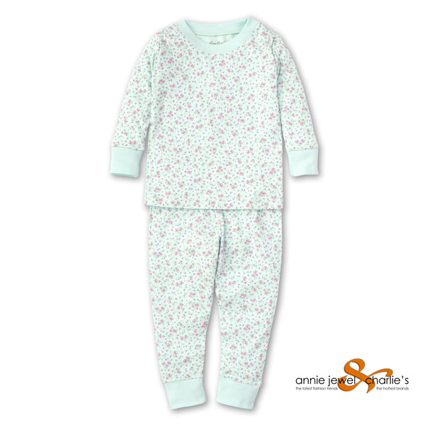 Kissy Kissy - Mint Floral PJ Set