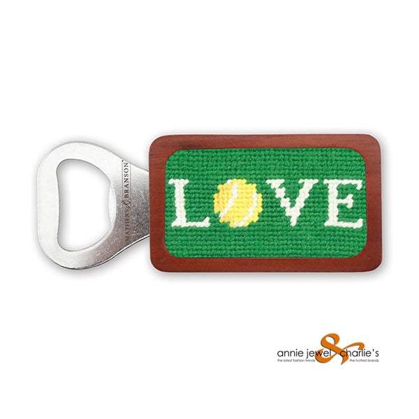 Smathers & Branson - Love All Needlepoint Bottle Opener
