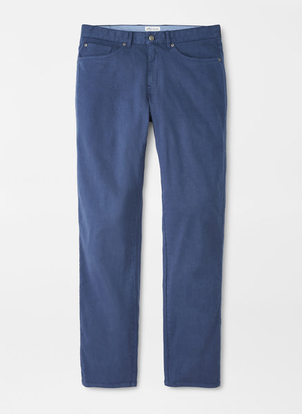 Peter Millar - Ultimate Sateen Five Pocket Pant in Navy
