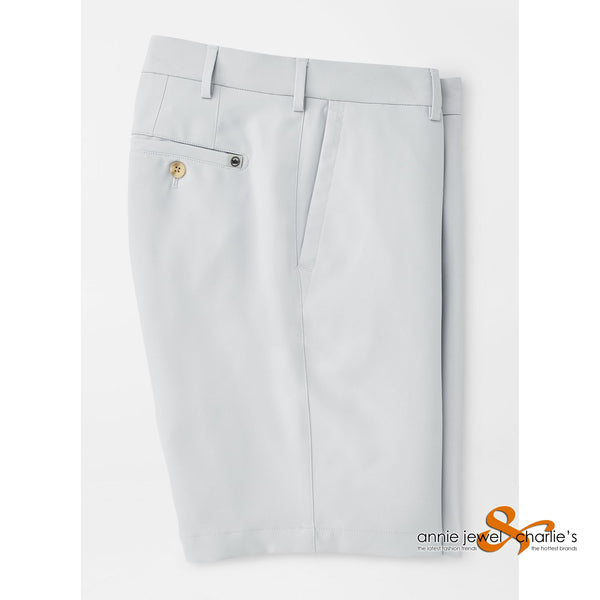 Peter Millar - Salem High Drape Performance Short British Grey