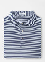 Peter Millar - Hales Performance Polo Navy Stripes