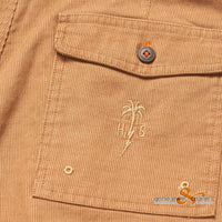 Howler Bros - Cornerstone Corduroy Short Scorched Earth