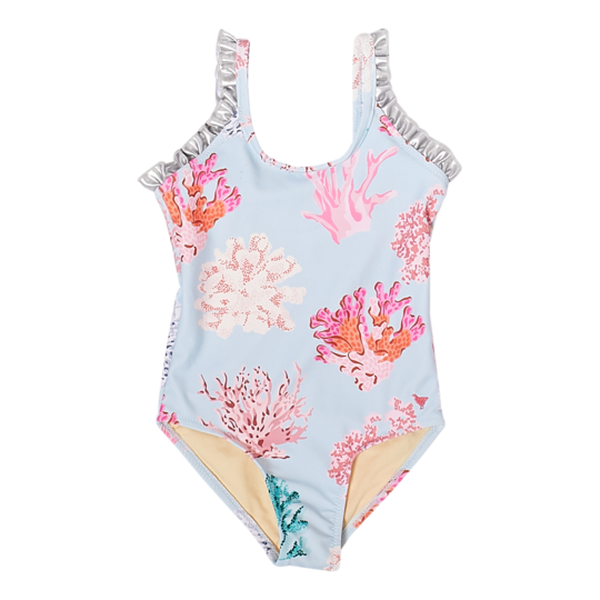 Pink Chicken - Claire Suit Multi Coral