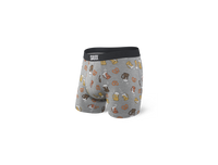 SAXX Underwear - Vibe Boxer Brief Slim Fit Grey Beer Cheers