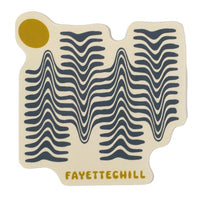 Fayettechill - Wavelength Sticker