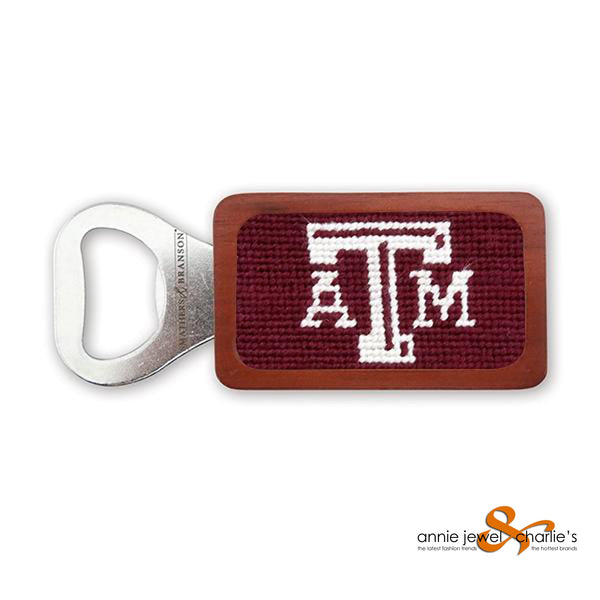 Smathers & Branson - Texas A&M (Maroon) Needlepoint Bottle Opener