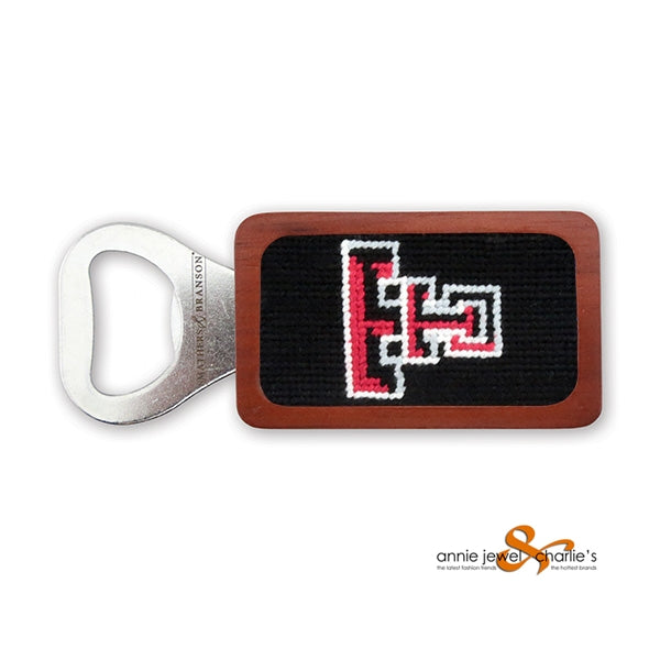Smathers & Branson - Texas Tech Needlepoint Bottle Opener