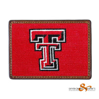 Smathers & Branson - Texas Tech Needlepoint Card Wallet