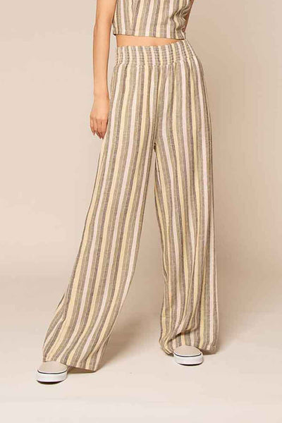 Thread & Supply - Versailles Pants - Pear Stripe