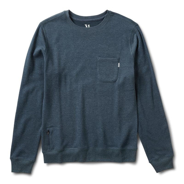 Vuori - Jeffrey's Pullover Indigo Heather
