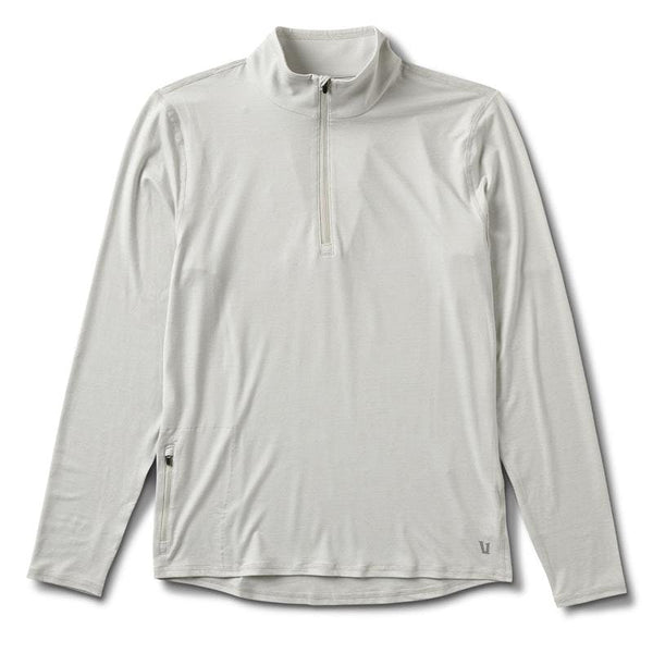 Vuori - M's Ease Performance 1/2 Zip Dove Grey Heather