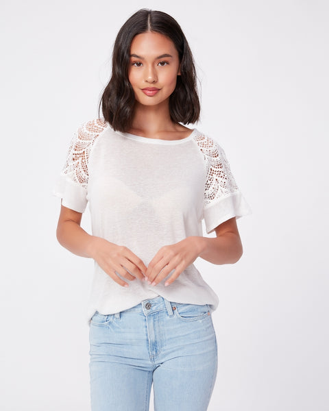Paige - Finley Top Ivory