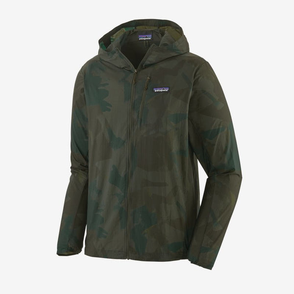 Patagonia – Men's Houdini Jacket Painted Fields Big: Crop Green
