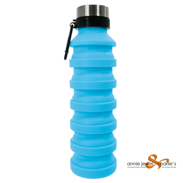 Iscream - Collapsible Water Bottle Blue