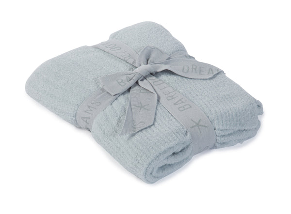 Barefoot Dreams - Cozychic Lite® Ribbed Blanket in Blue