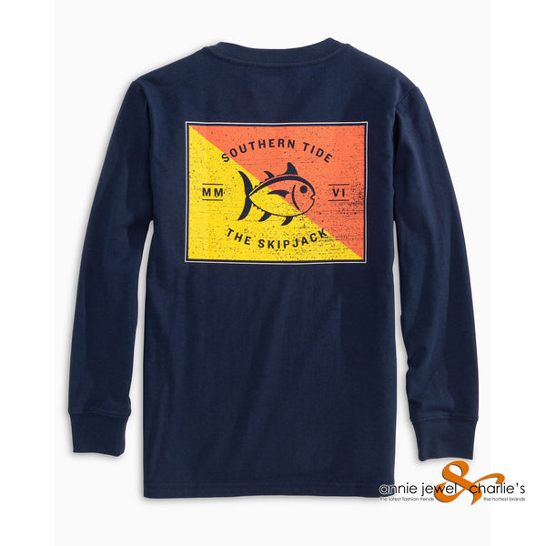 Southern Tide - Long Sleeve Overboard T-Shirt
