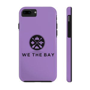 Mate Tough Phone Case- Purple (pick different size for iPhone 6 - 11pro or Galaxy S6)