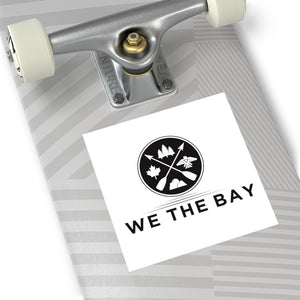 We The Bay- Square Sticker
