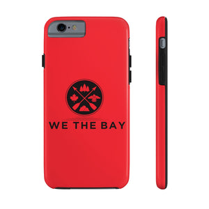 Mate Tough Phone Case- Red (pick different size for iPhone 6 - 11pro or Galaxy S6)
