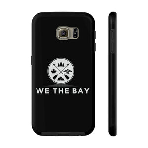 Mate Tough Phone Case- Black (pick different size for iPhone 6 - 11pro or Galaxy S6)
