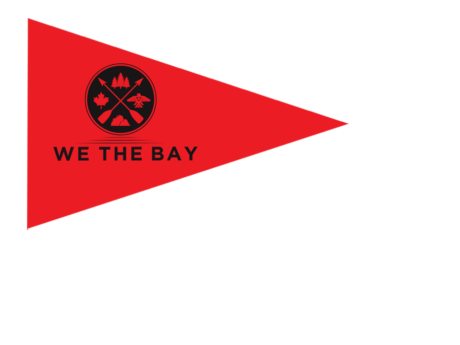 "WE THE BAY - 12"" x 18"" Boat Flag"