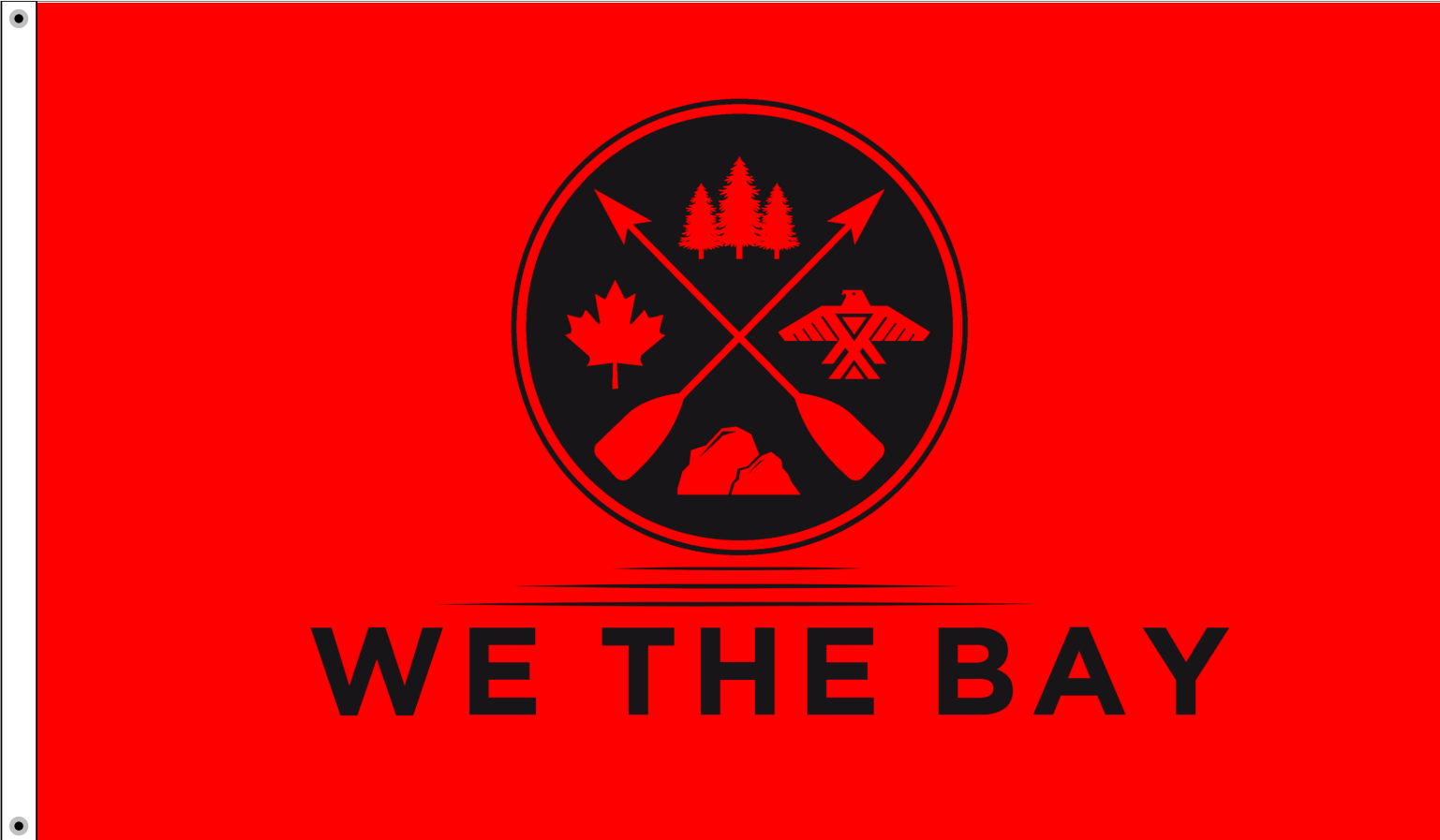 We The Bay - 3' x 5' Flag