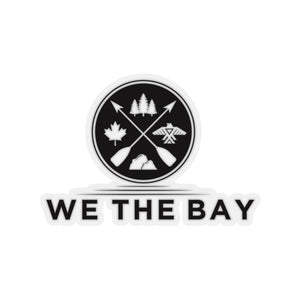 We the Bay- Kiss-Cut Stickers